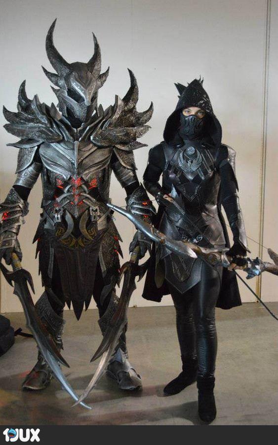 Daedra Rüstung & Nachtigall cosplay