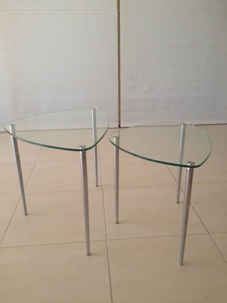 $50 Gumtree Glass Side Tables Pacific Pines Gold Coast City image 1