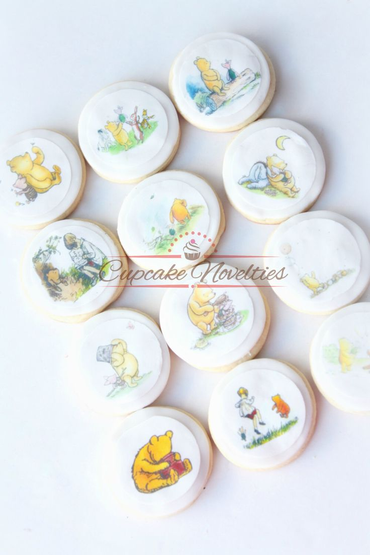 Lovely Classic Winnie the Pooh Baby Shower Classic Pooh Baby Shower Pooh Cookies Vintage Winnie the Pooh