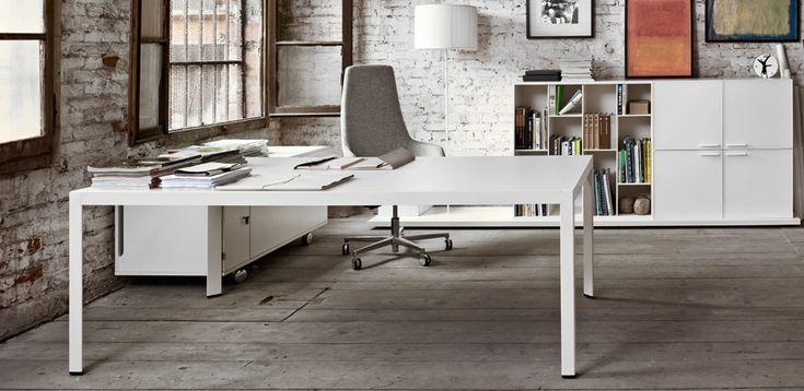 Scrivania Ufficio Design Frame di Sinetica | ScrivaniaDesign
