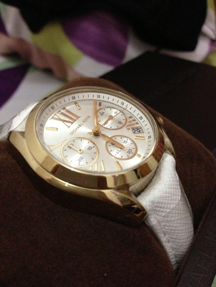 Michael Kors - white leather... Love it