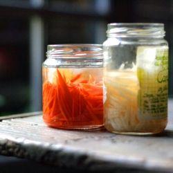 Pickled Carrot and Daikon Julienne Momofuku Recipe | TasteSpotting