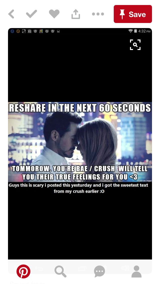 Let's see!!<<< this won't ever work for me. I don't even have my crush's #..... but if I somehow bump into them in public and they confess. Ima be so FRIKEN shocked. I swear if this works Ima scream.
