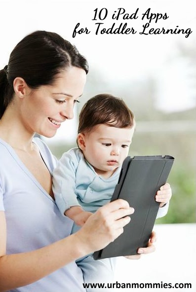 The Best Educational iPad Apps for Toddler Learning - UrbanMommies - ps great for autistic children too!!! Has helped my nephews out alot