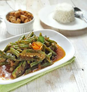 My Kitchen Notes: Sayur Tumis Buncis Cabai Hijau
