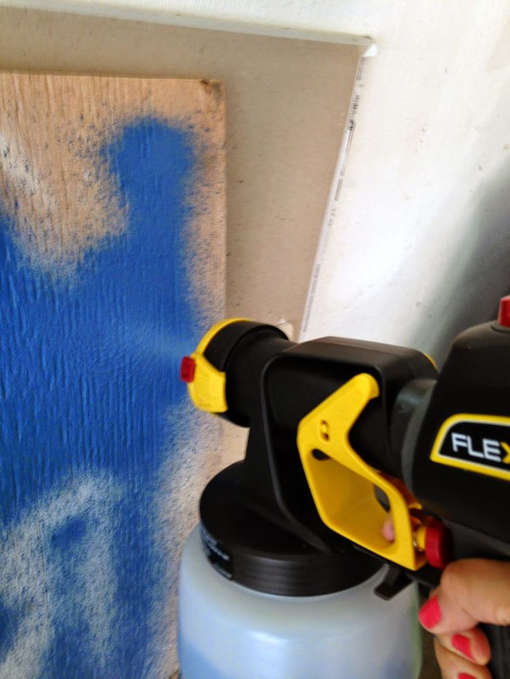 GORGEOUS SHINY THINGS: How to use a Paint Sprayer on Furniture
