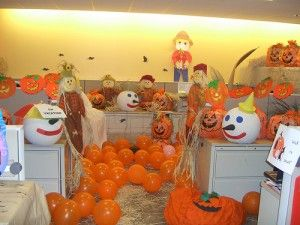 best halloween cubicle decorations of all time - Office Halloween Decor