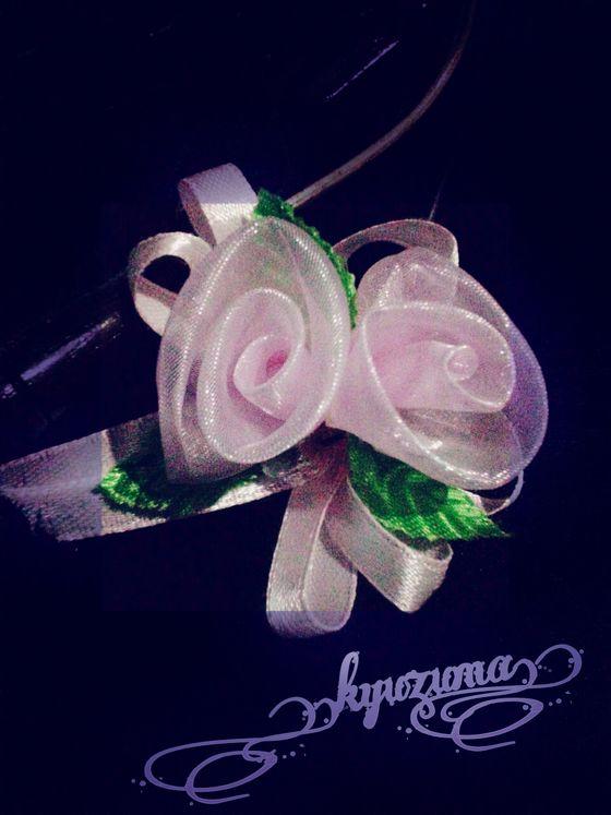 Tutorial membuat bunga dari kain kaca mudah dan sederhana