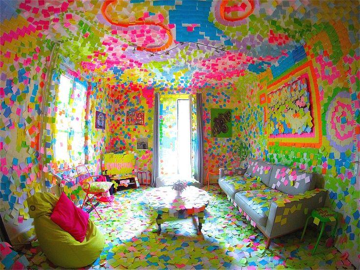 les 141 meilleures images du tableau post it notes sur pinterest notes autocollantes. Black Bedroom Furniture Sets. Home Design Ideas