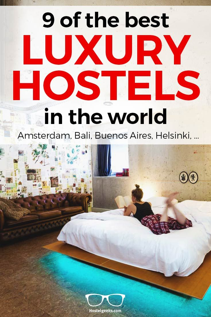 Say goodbye to dingy dorms. Five star hostels are becoming increasingly popular on the backpacker circuit and Megan Trigg takes a look at 9 of the best from around the world.