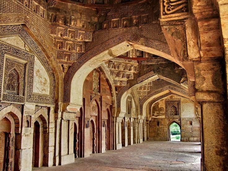 Silent Halls, Lodhi Gardens, Delhi.