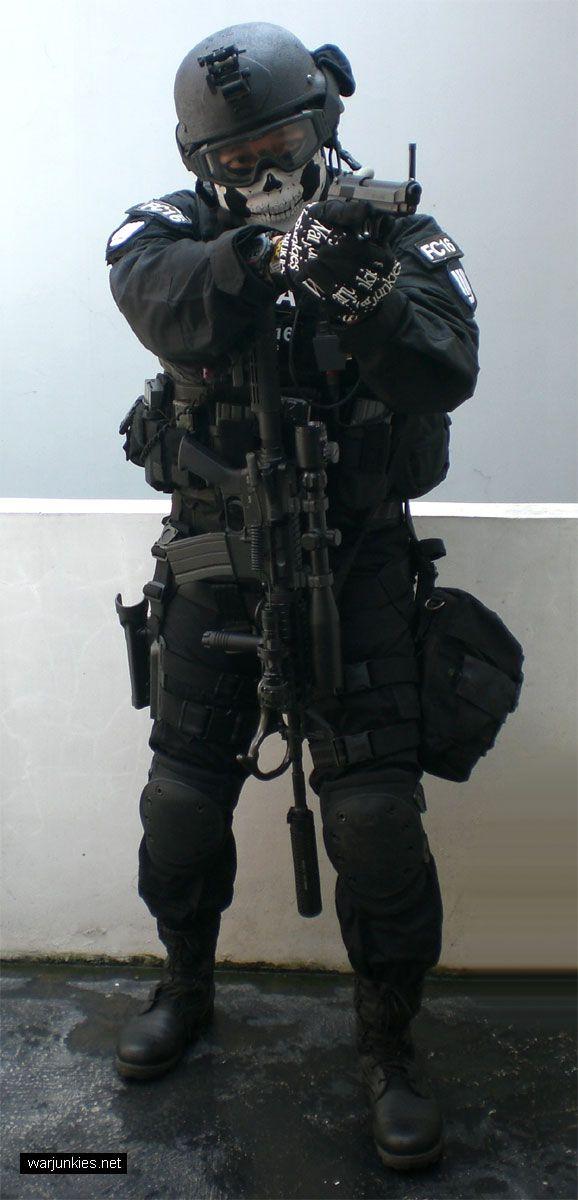 CIA SAD (Special Activities Division) NIGHT...