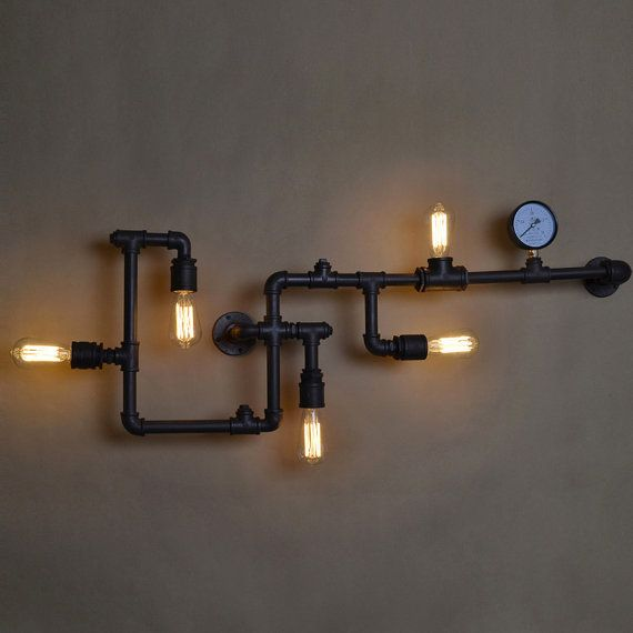 17 best images about steampunk industrial lighting home for Industrial design lighting fixtures