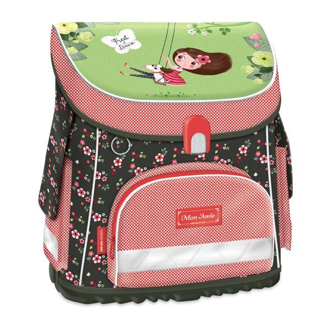 Kompaktná školská taška Mon Amie - Školská taška iba z Ramina.sk - RAMINA - Školská taška a školské potreby pre deti