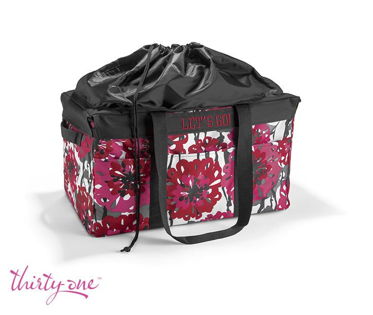 Our Deluxe Utility Tote is perfect for grocery shopping, and the Deluxe Cinch-Top Lid will keep everything safely stored inside!
