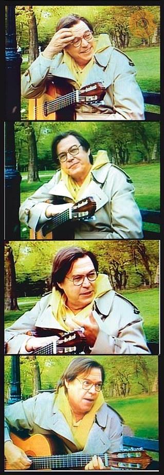 Tom Jobim e seu violão ;)