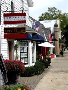 Harbor Springs, MI-one of the best French antiquing towns and quite charming too