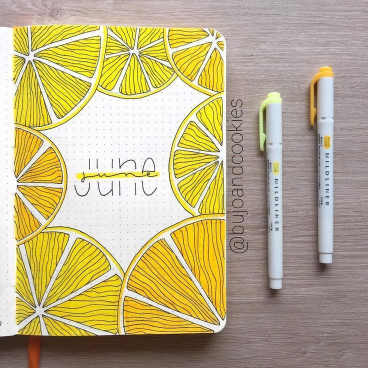 19 monthly covers to beautify your bullet journal M V