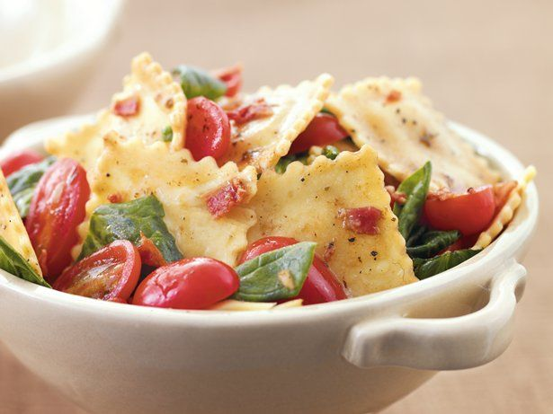 Turn cheese ravioli into a special supper with just a few ingredients and 20 minutes of time.