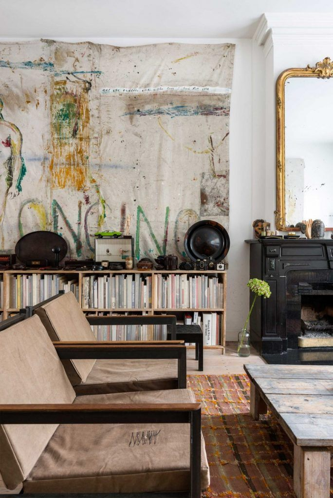 The Well-Travelled Amsterdam Home of Jasper Krabbé