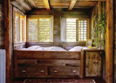 barnwood: Cabin, Cozy Nooks, Idea, Elle Decor, Dreams Beds, Wood Beds, Beds Nooks, Kids Rooms, Cozy Beds