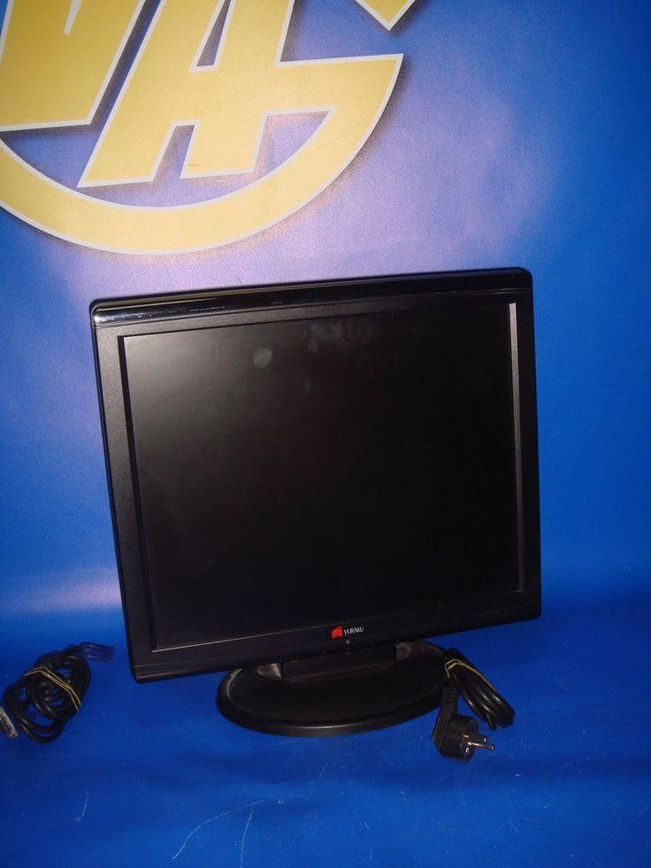 Monitor de Pc buen estado YURAKU  TFT LCD 17 pulgadas