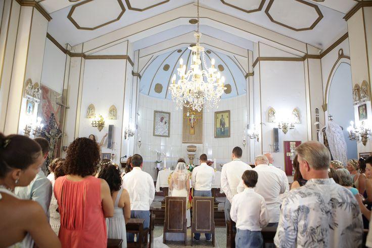 Catholic Church Wedding Kefalonia Greece