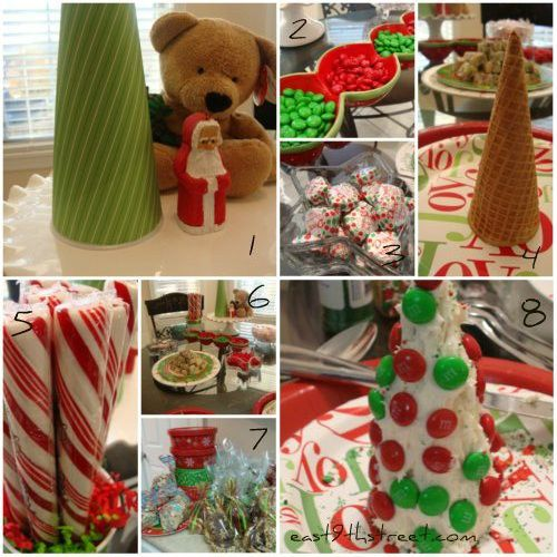 Plan your own Candy Christmas Tree Playdate - inexpensive and so much fun!
