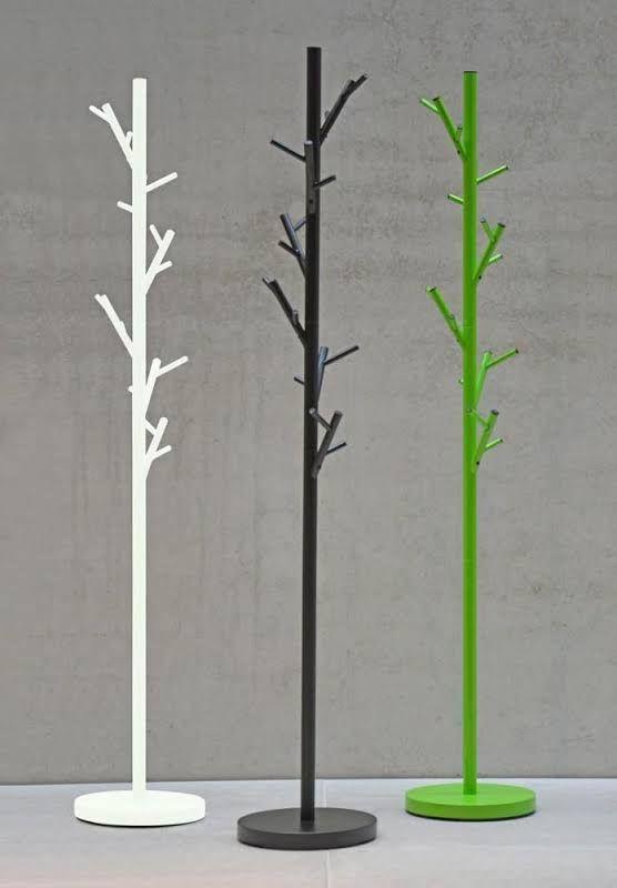 Jan Kurtz Kleiderständer Tree Design Garderobe 3 Farben, Höhe 170 cm, Jan Kurtz Farbe weiß