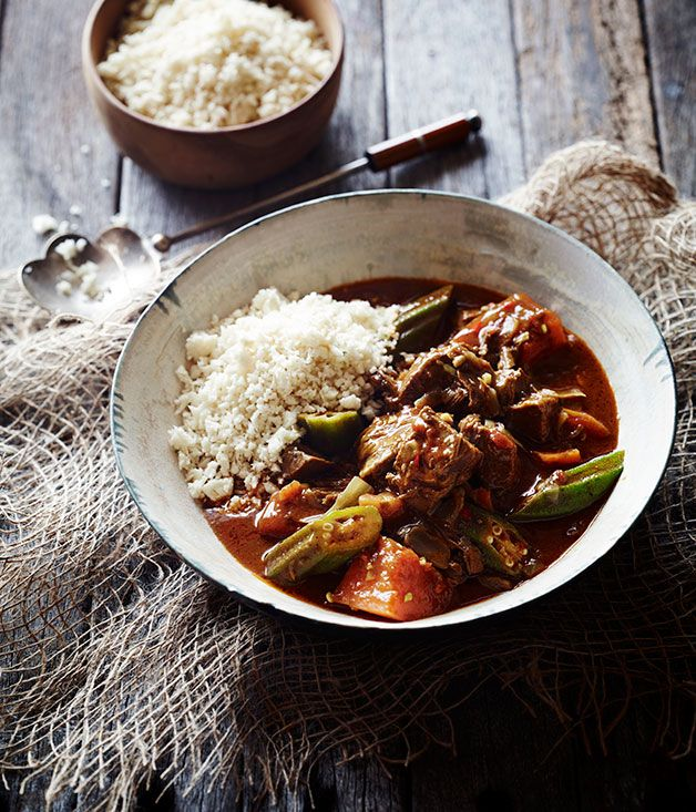 Australian Gourmet Traveller recipe for Jamaican goat curry by Pete Evans.