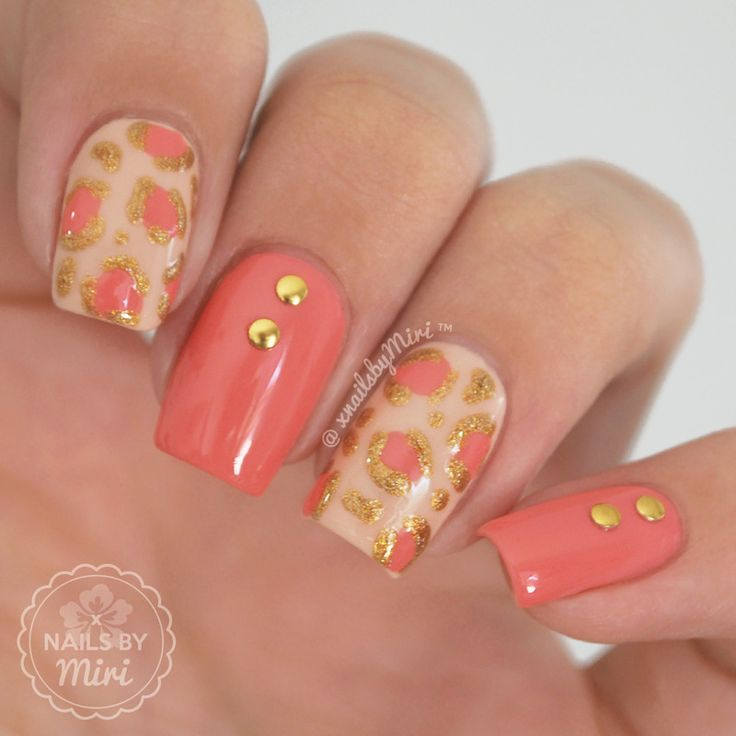 The 25+ best Coral nail designs ideas on Pinterest | Coral nails, Bright nail  designs and Pretty nails - The 25+ Best Coral Nail Designs Ideas On Pinterest Coral Nails