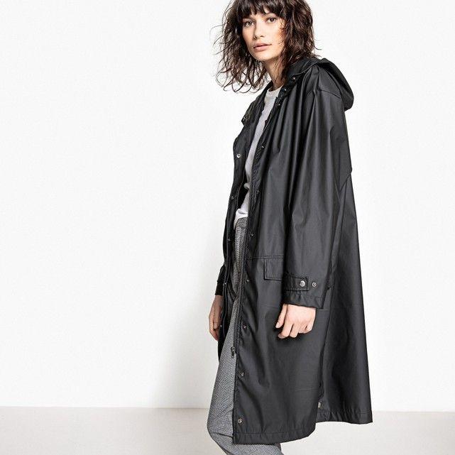 la redoute collections long length raincoat women 39 s. Black Bedroom Furniture Sets. Home Design Ideas