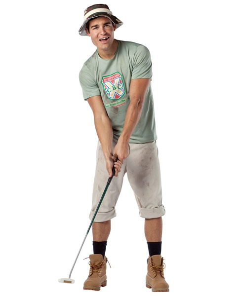 Mens Caddyshack Carl Spackler | Wholesale TV and Movie Halloween Costumes for Mens