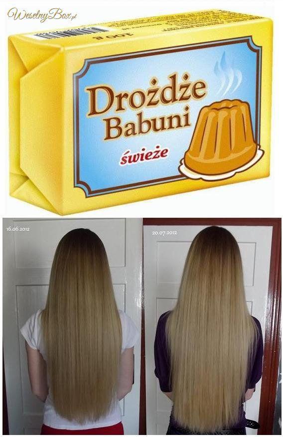 Drożdżowy TRIK urodowy, który pomoże Ci w walce o Twoje długie włosy!
