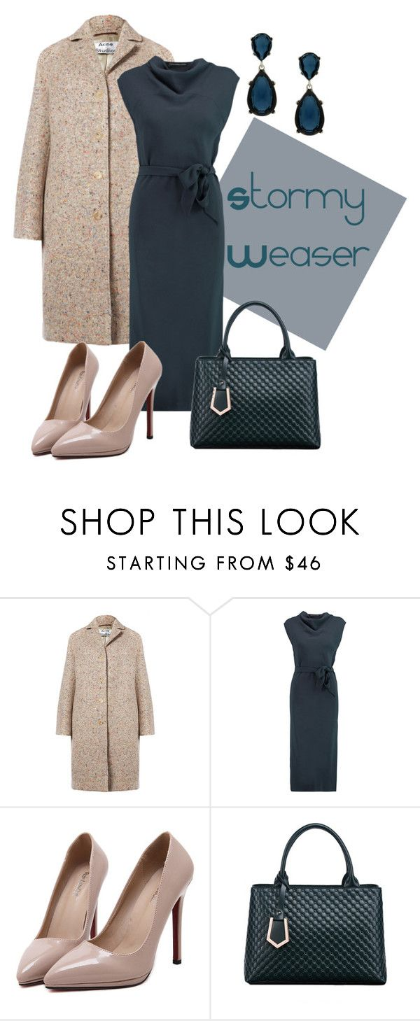 """""""1654"""" by magia-h ❤ liked on Polyvore featuring Acne Studios, Maria Grachvogel, Relaxfeel and Kenneth Jay Lane"""