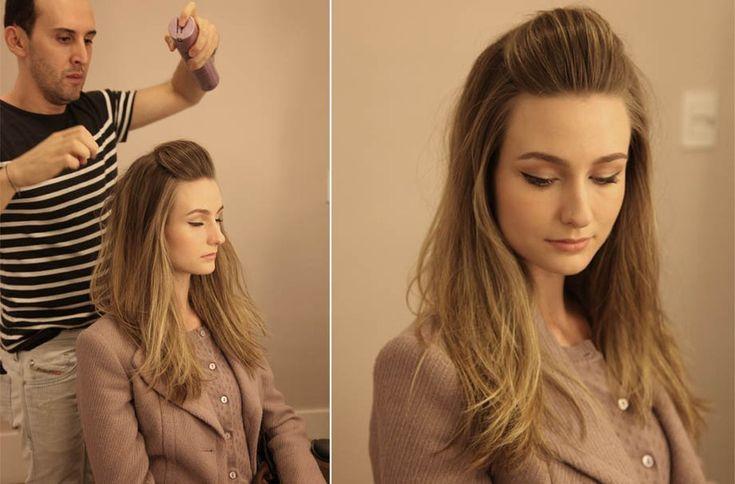 Topete: o penteado da vez em duas maneiras de usar - GLAMOUR | Beleza