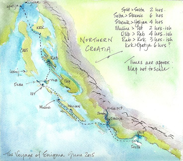 From the blog: Sailing northern Croatia – Solta to Uglijan. http://destinationhereandnow.com/2015/07/sailing-northern-croatia-solta-to-uglijan/ sailing northern croatia map
