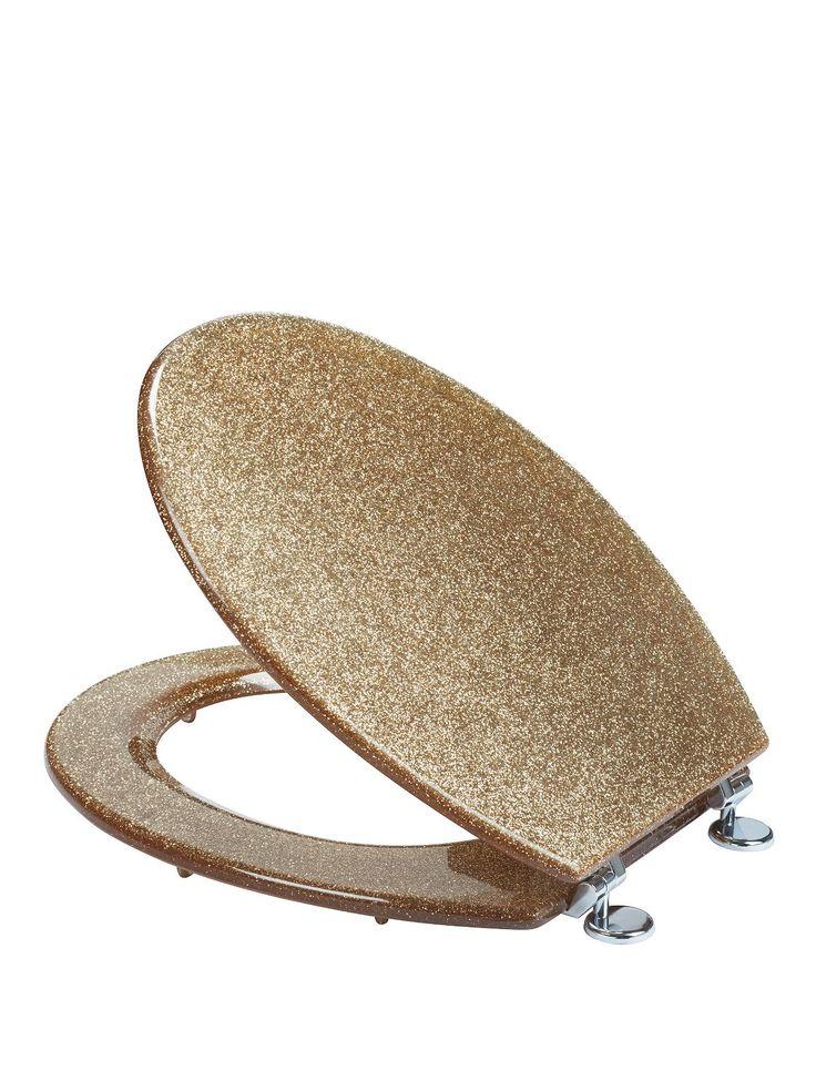 gold foil toilet seat. Croydex Gold Glitter Toilet Seat Dream Home Pinterest  Design Health support us