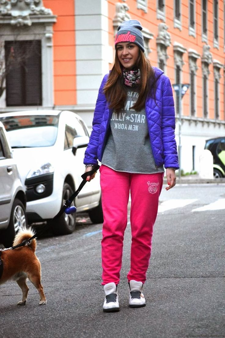 Anthea, la #felpa #LollyStar e un look super comodo! :)