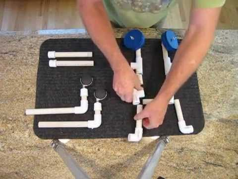 How to Build a Physical Therapy Walker / Wheelchair for Kittens/Dogs.  Very useful!