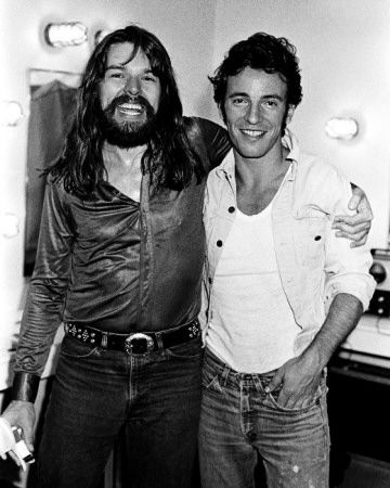 Bob Seger and some fan from New Jersey.  :)