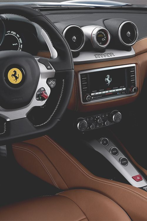 "wearevanity: "" Inside the new 2014 Ferrari California """