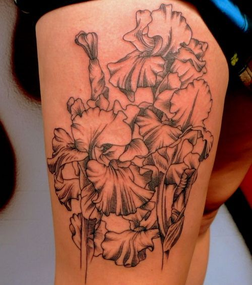 10 Floral Tattoo Artists You Could Trust Your Skin To: Http://tattooeve.com/flower