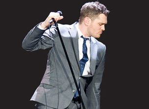 Be serenaded by Michael Buble in a supermarket.