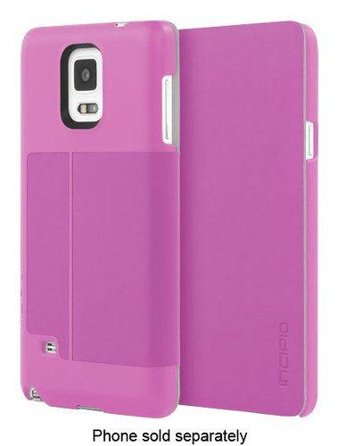Incipio - Lancaster Case for Samsung Galaxy Note 4 Cell Phones - Purple