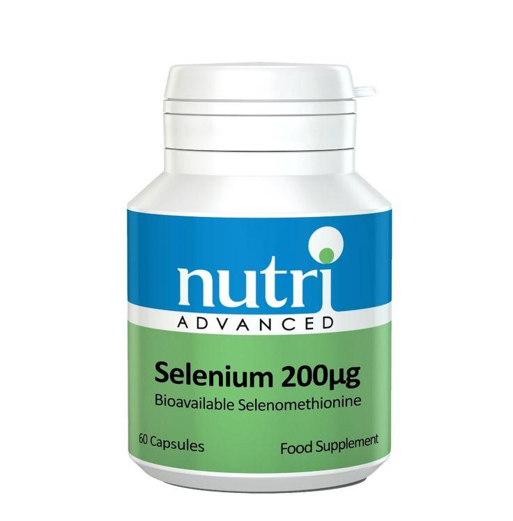 Nutri Advanced Selenium  200mcg - 60 capsules