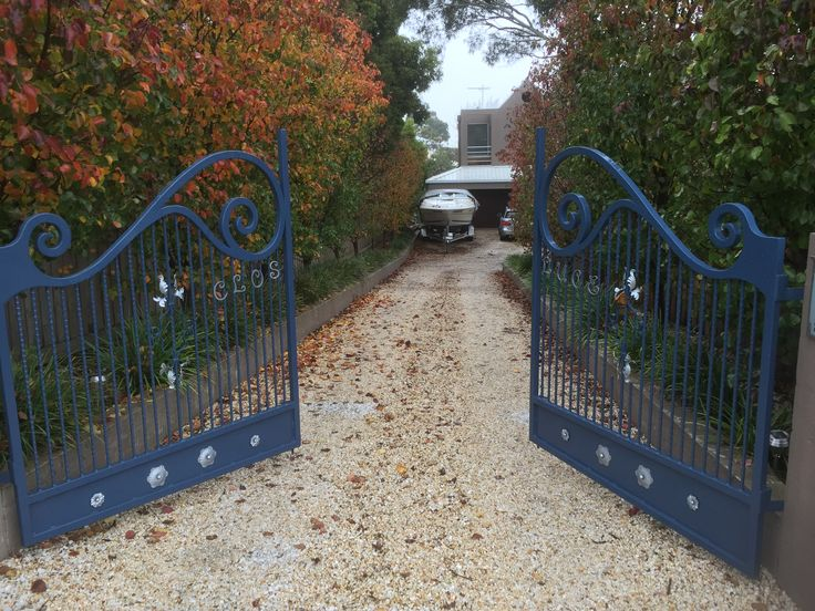 Custom made gates @ Mt Eliza, Victoria