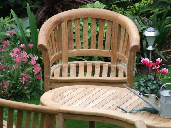 Terrassenmöbel holz massiv modern  Die besten 25+ Gartenbank holz massiv Ideen auf Pinterest ...