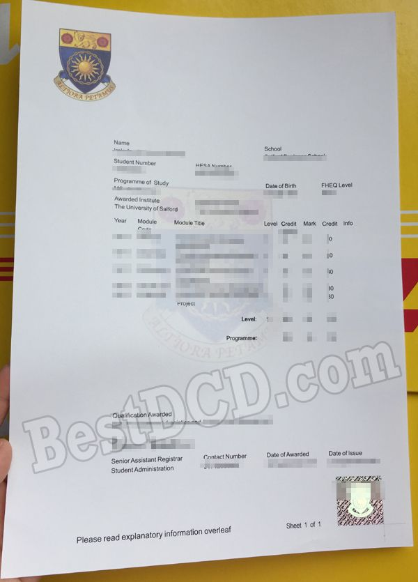University Of Salford Fake Transcript Fake Certificate The Best