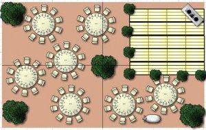 Floorplanner : Un logiciel en ligne gratuit pour faire ton plan de table.